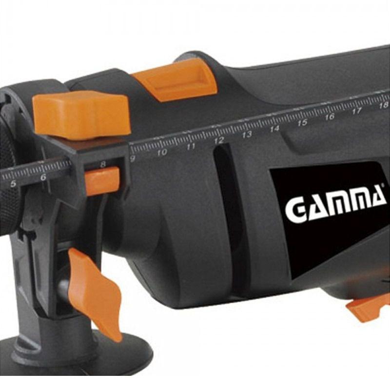 Furadeira de Impacto Gamma Profissional com Maleta 500W 220V