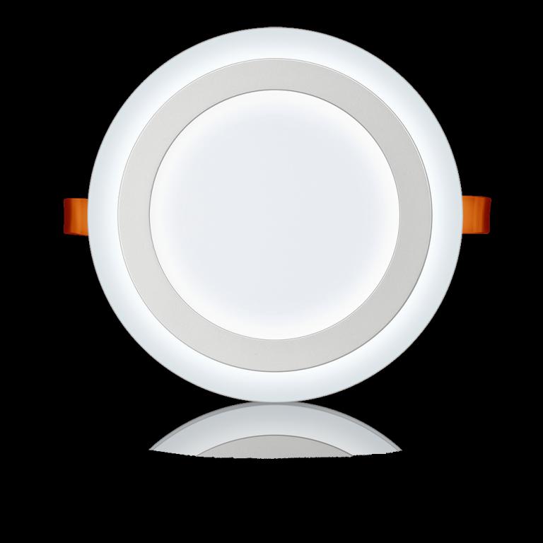 Luminária Plafon Led Redonda Embutir 3 Estágios Elgin 9W Bivolt