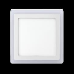 Luminária Led Sobrepor 3 Estágios Elgin 18W Quadrada Bivolt