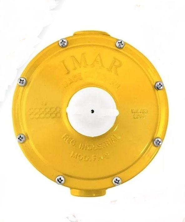 Regulador Gás Industrial Amarelo Imar