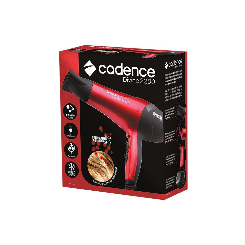 Secador Cabelo Divine 2200 220V Cadence