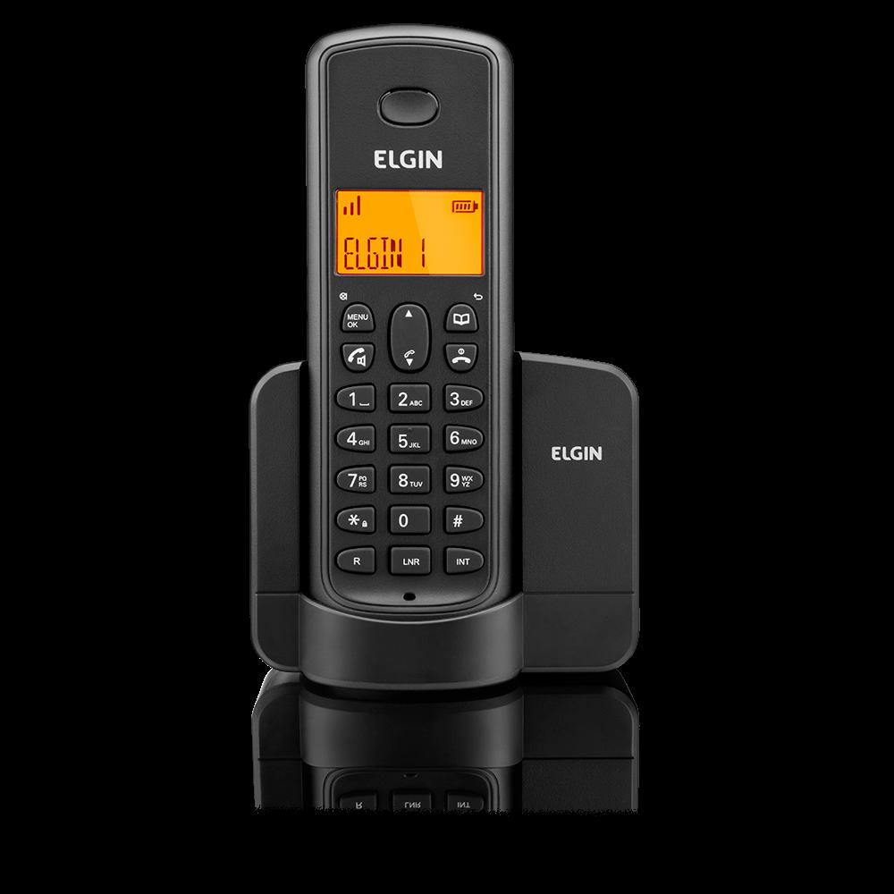 Telefone Sem Fio com Identificador e Viva-voz Elgin