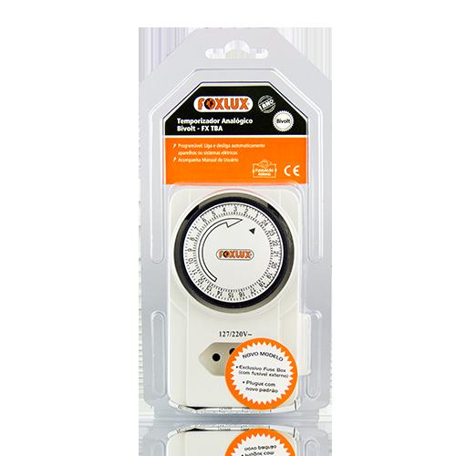 Timer Analógico Foxlux FX-TBA
