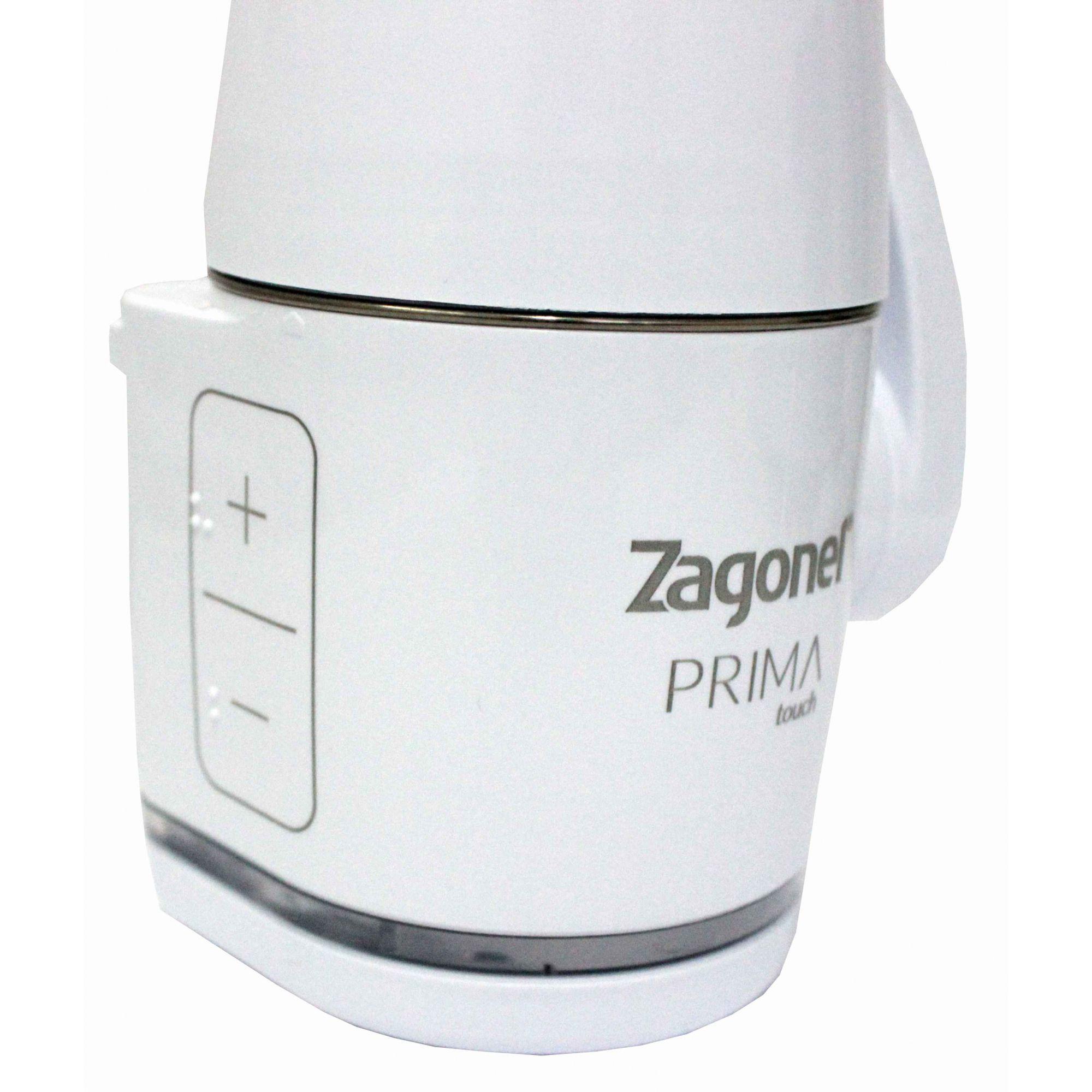 Torneira Zagonel Branca Prima Touch Eletrônica 5500/5000W
