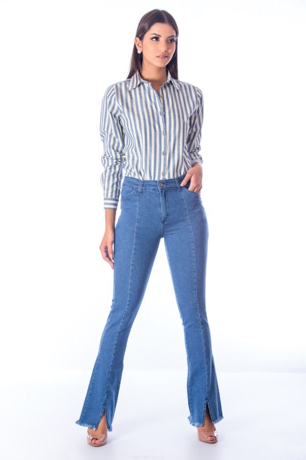 Calça Flare Light Jeans