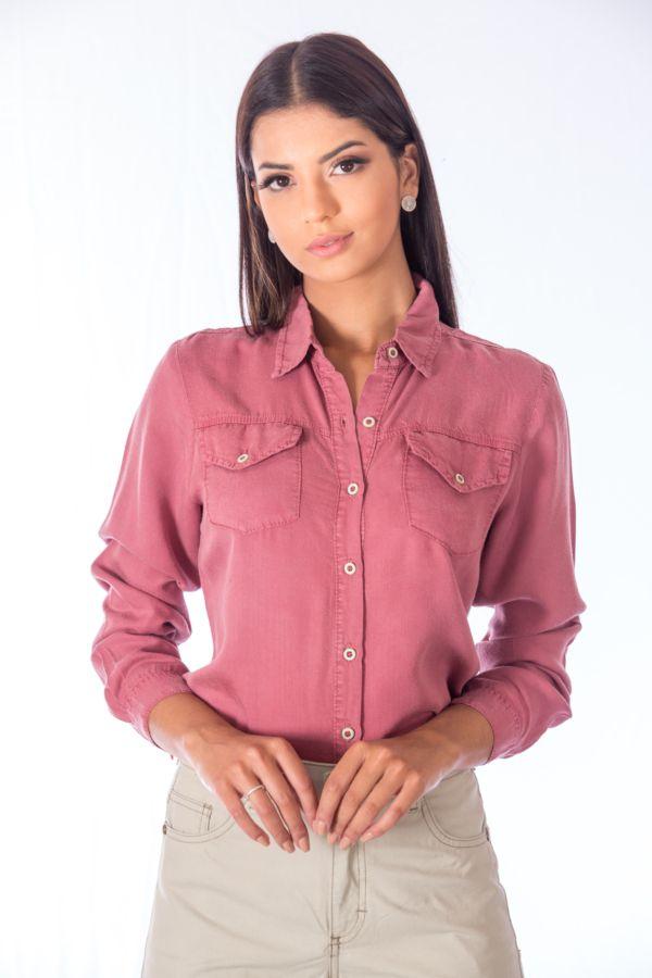Camisa Color Slim Fit