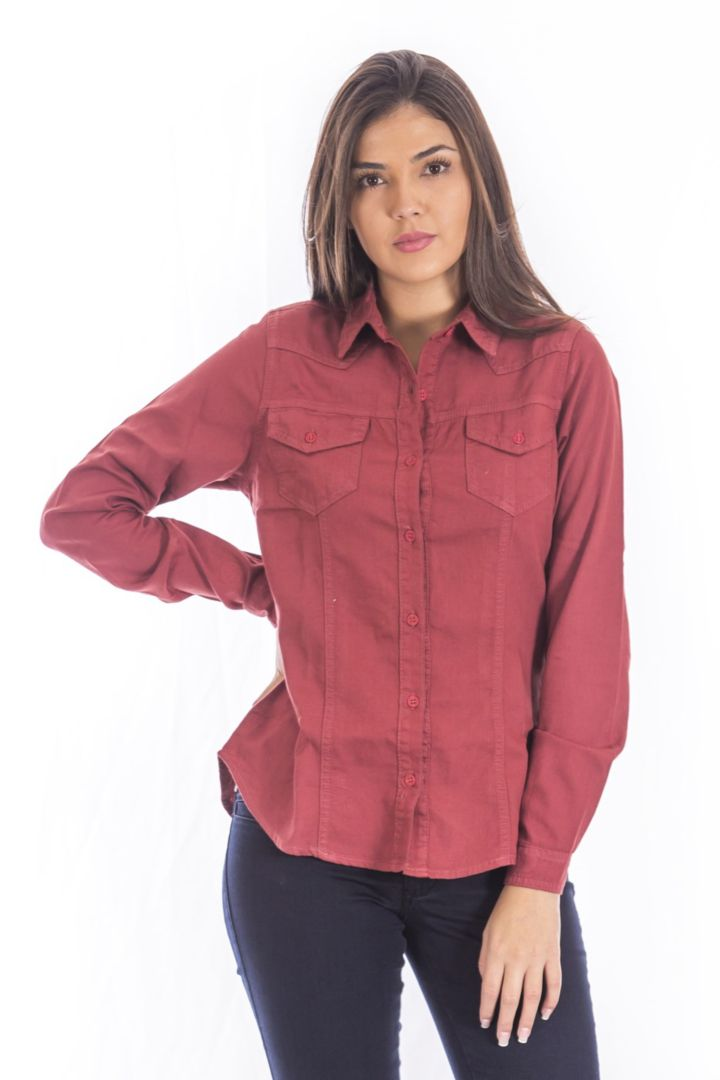 Camisa Feminina Color DTA