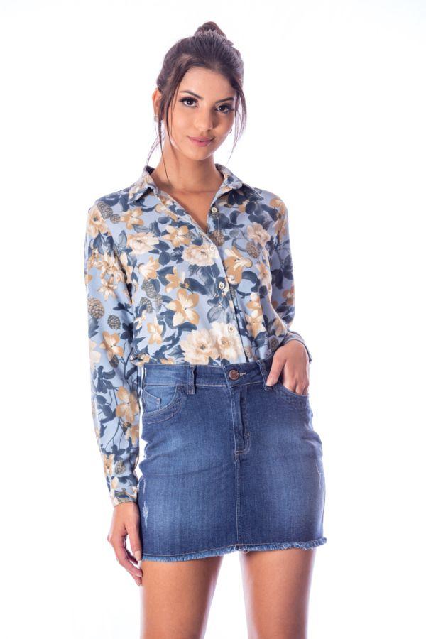 Camisa Flora ML CRP