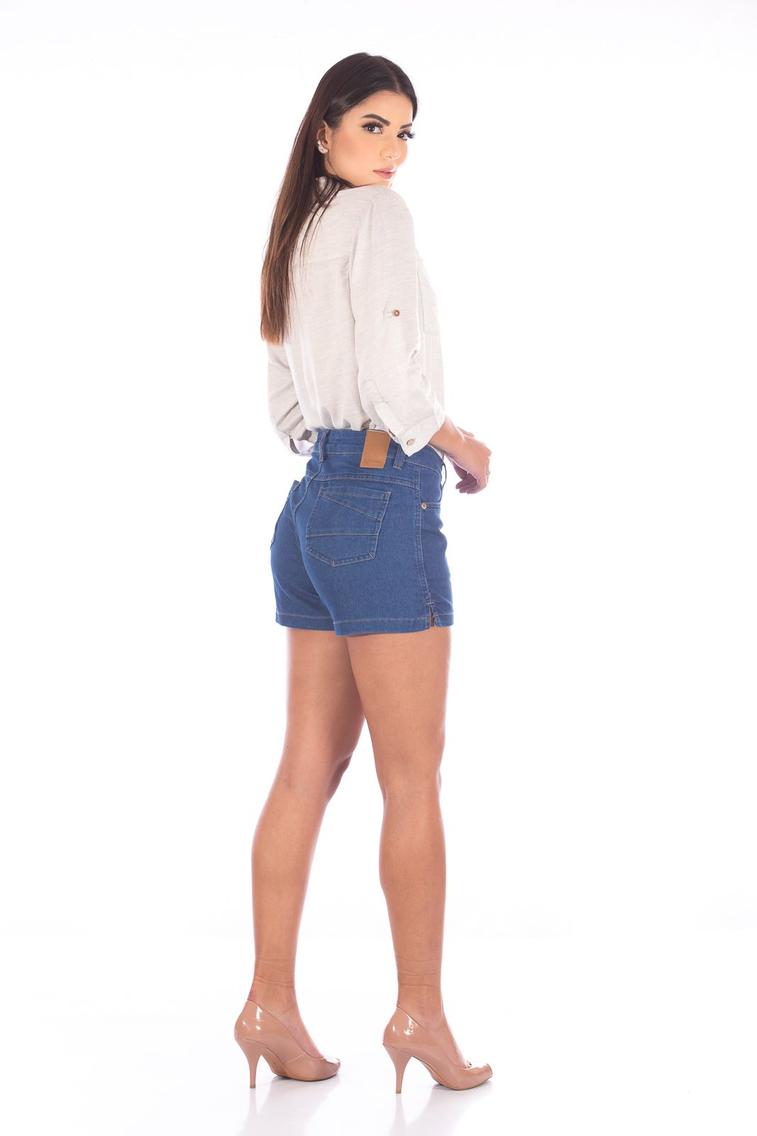 Shorts Jeans Stoned