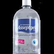 Álcool em Gel Antisséptico Cristal Aloe Vera 1,05Kg - Asseptgel