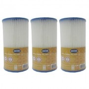 Kit Com 3 Refil Para Filtro De Piscina 3.600 Litros