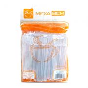 Mexedor Para Café Tipo Drinque 11CM Cristal Pacote com 500 Unidades - Mexa Bem