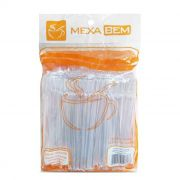 Mexedor para Café Remo 9,5CM Branco Pacote Com 500 Unidades - Mexa Bem