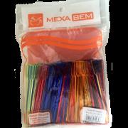 Mexedor para Café Remo 9,5CM Colorido Pacote Com 500 Unidades - Mexa Bem