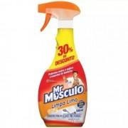 Tira Limo com Cloro para Banheiro 500ML - Mr. Músculo