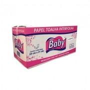 PAPEL INTERFOLHA 2 DOBRAS  FOLHA DUPLA COM 2000 -  BABY