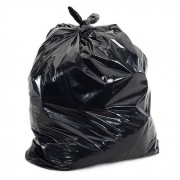 Saco Para Lixo 100L Reforçado P7 Com 100 Unidades Preto