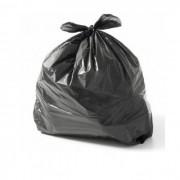 Saco para Lixo 40L Reforçado com 100 unidades Preto