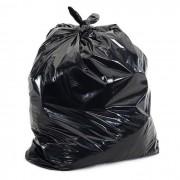 Saco para Lixo 60L Reforçado com 100 unidades Preto