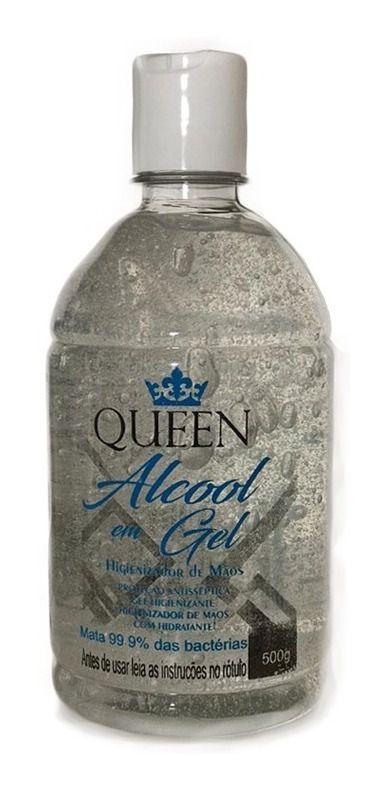 ALCOOL GEL QUEEN 500G