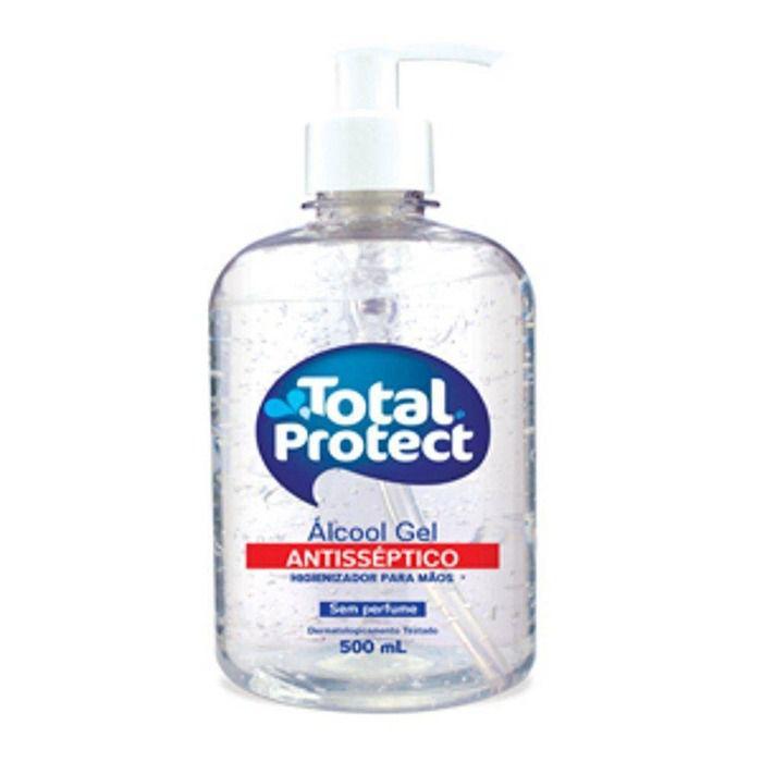 Álcool em Gel 500ML - Total Protect