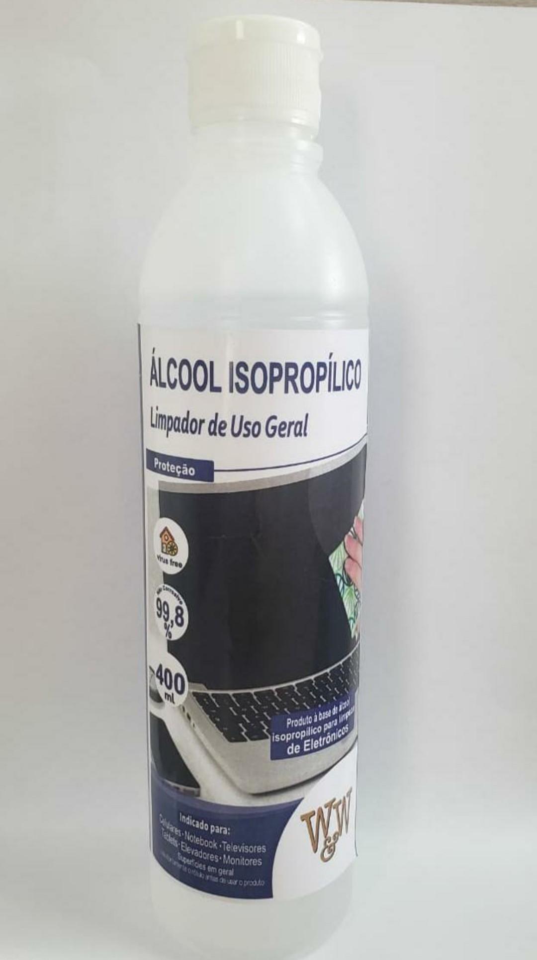 ALCOOL LIQ 99,8% ISOPROPILICO 400ML WW