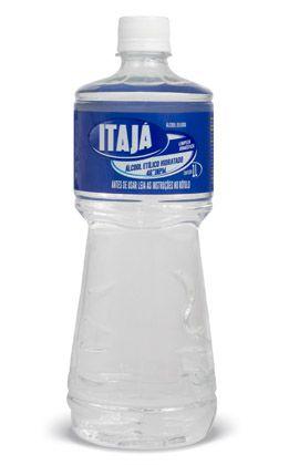Álcool Liquido Hospitalar 1L 46 INPM - Itajá