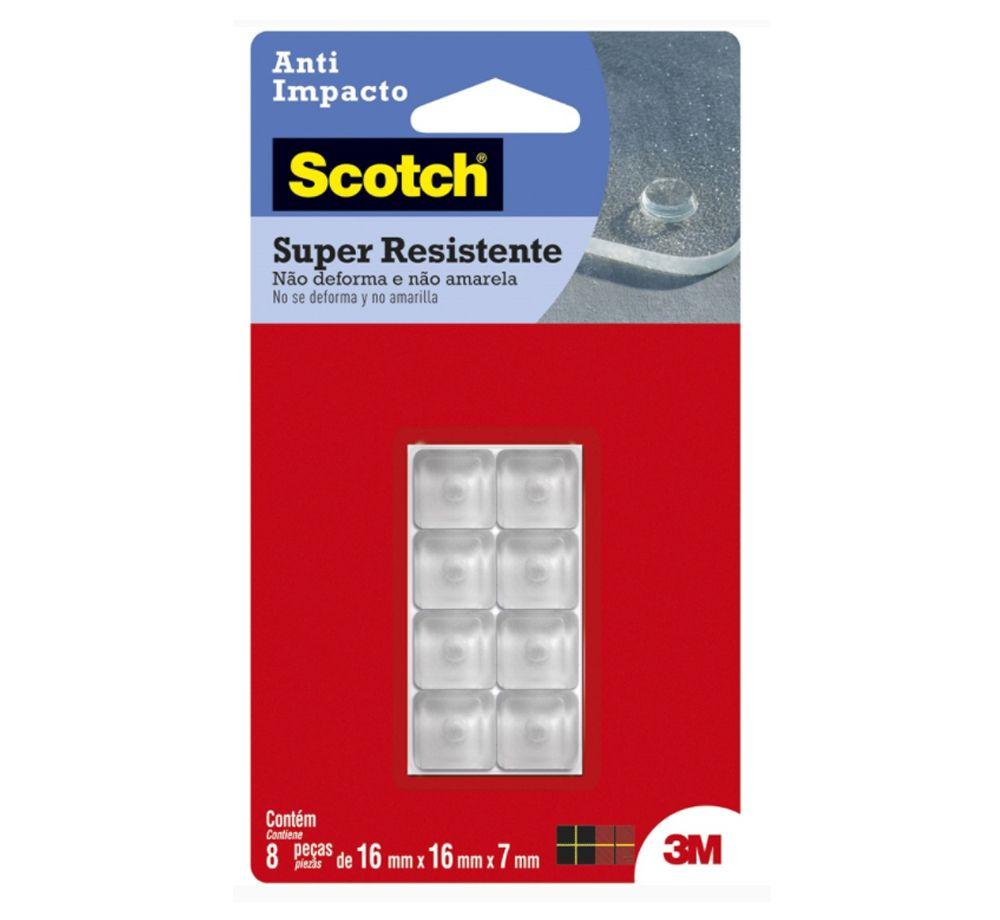 Anti Impacto Quadrado com 8 Unidades - Scotch 3M