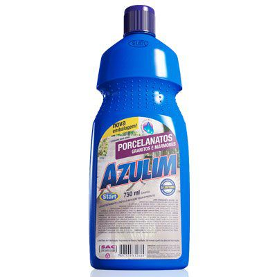 Azulim Limpa Porcelanatos E Granitos Lavanda 750ml Start