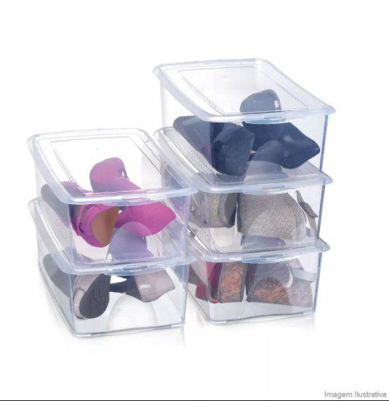 Caixa Organizadora para Sapato com 5 Unidades - Arthi