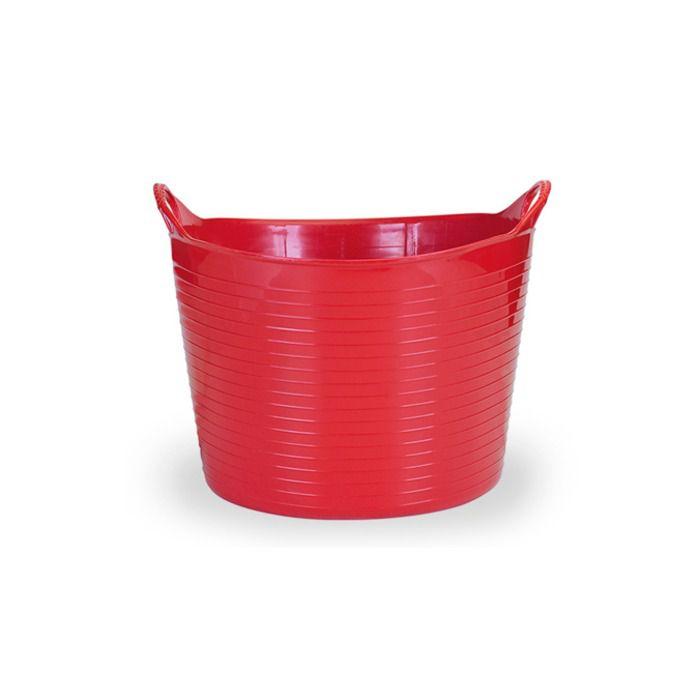 Cesto Plástico Flex 20L Vermelho - Arthi