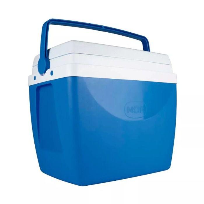 Cooler Caixa Térmica Azul 34 Litros - Mor