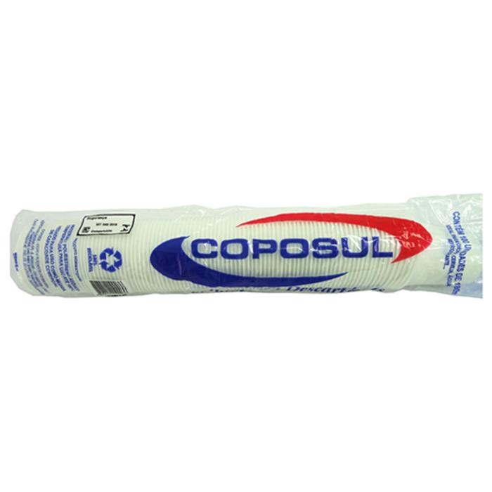Copo Descartável Branco 100ML ABNT Com 100 Unidades - Coposul