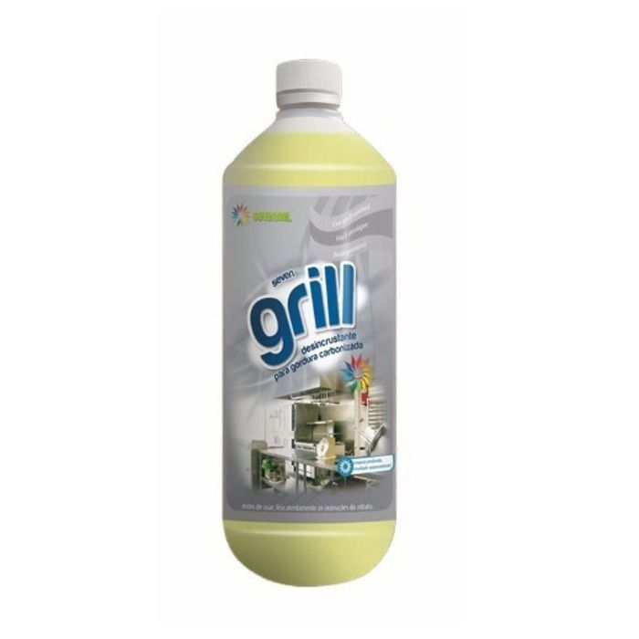 DESINCRUSTANTE P/GORDURA GRILL 1L SEVEN GEL