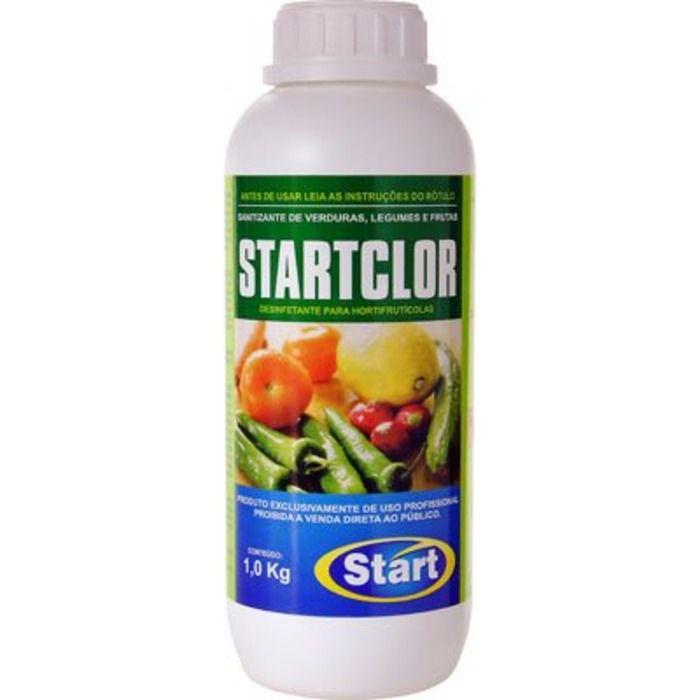 Desinfetante para Verduras e Frutas 1L Startclor - Start