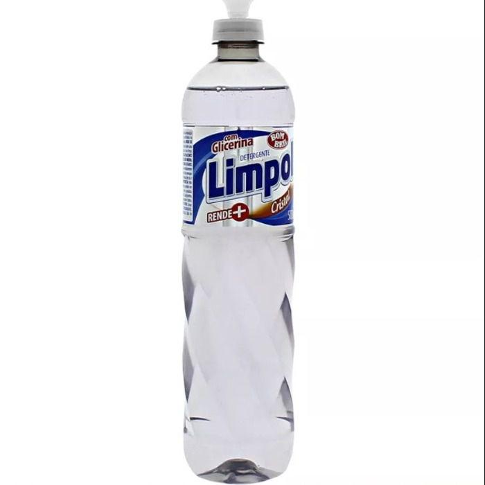 Detergente Cristal 500ML - Limpol