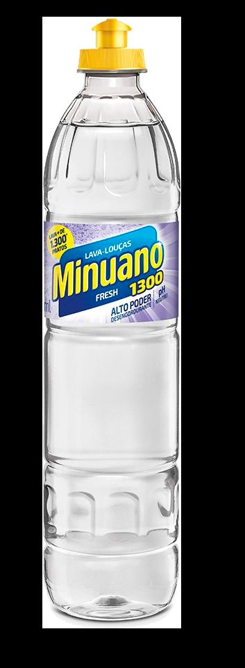 DETERGENTE 500ML MINUANO FRESH