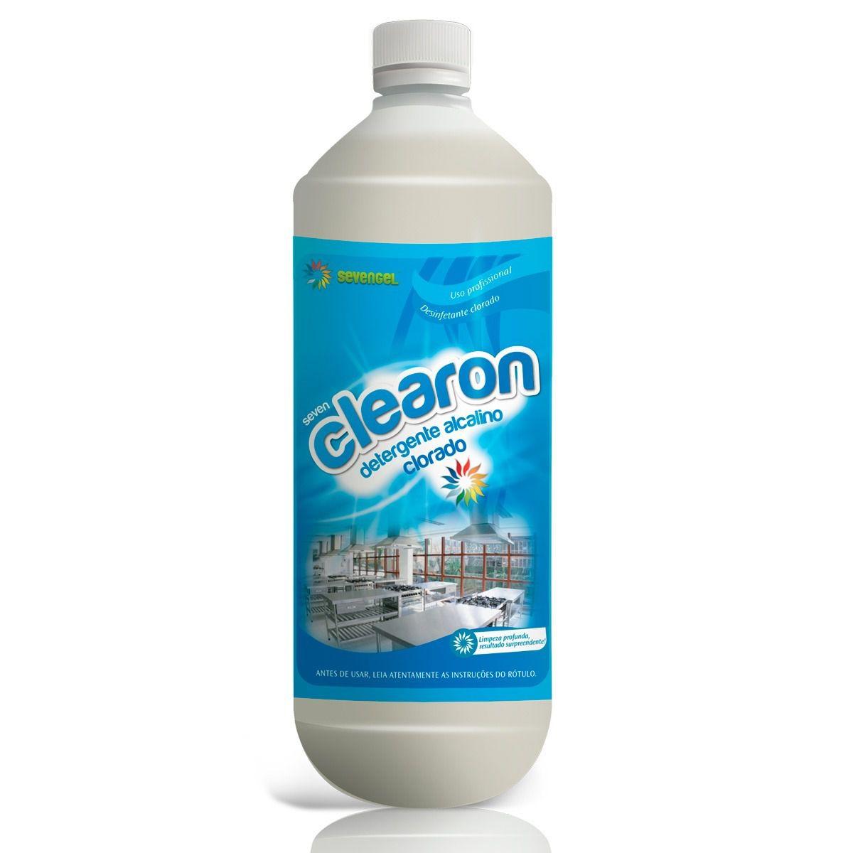 Detergente Clorado 1 Litro Clearon
