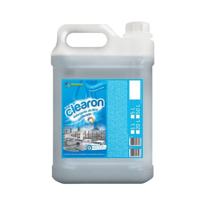 Detergente Clorado Clearon 5 litros Sevengel