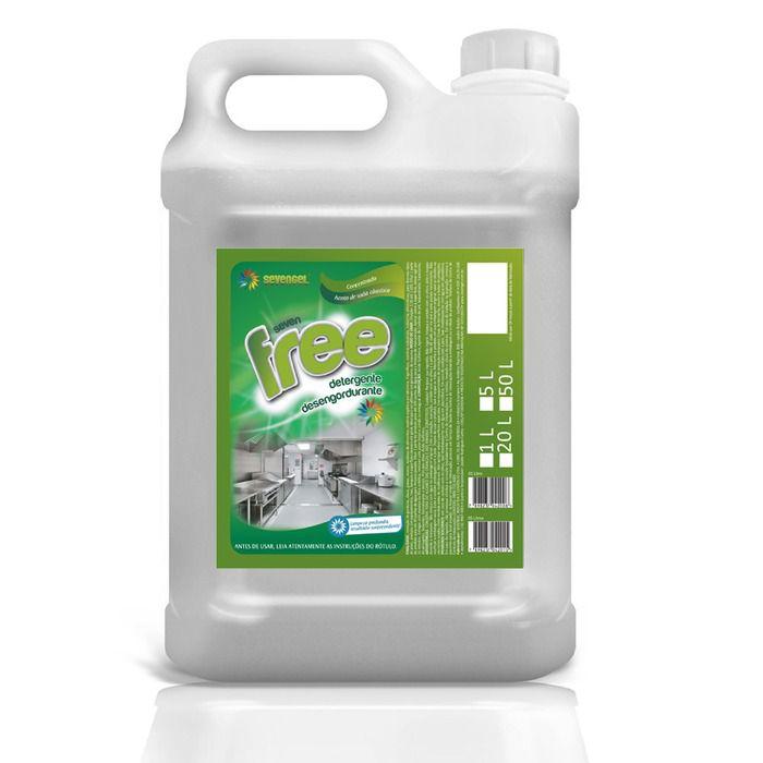 Detergente Desengordurante Free 5L - Sevengel