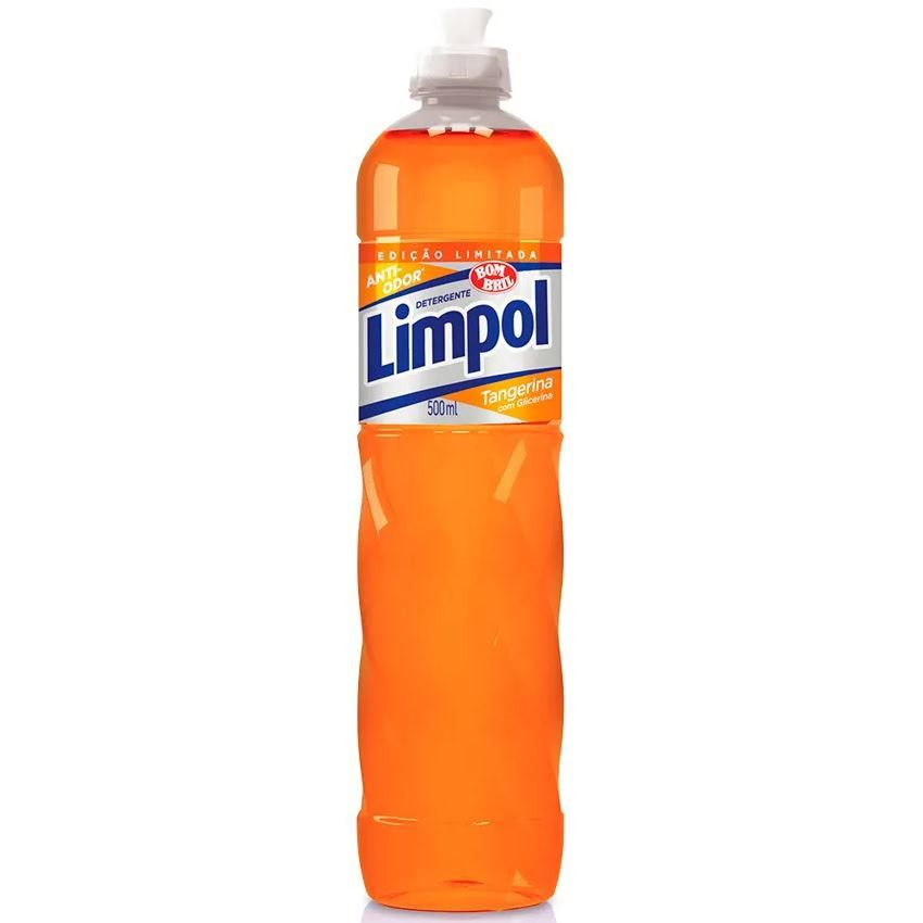 DETERGENTE LIMPOL 500MG TANGERINA