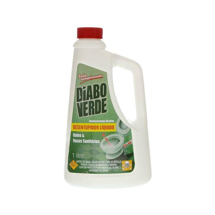 Diabo Verde Desentupidor Liquido