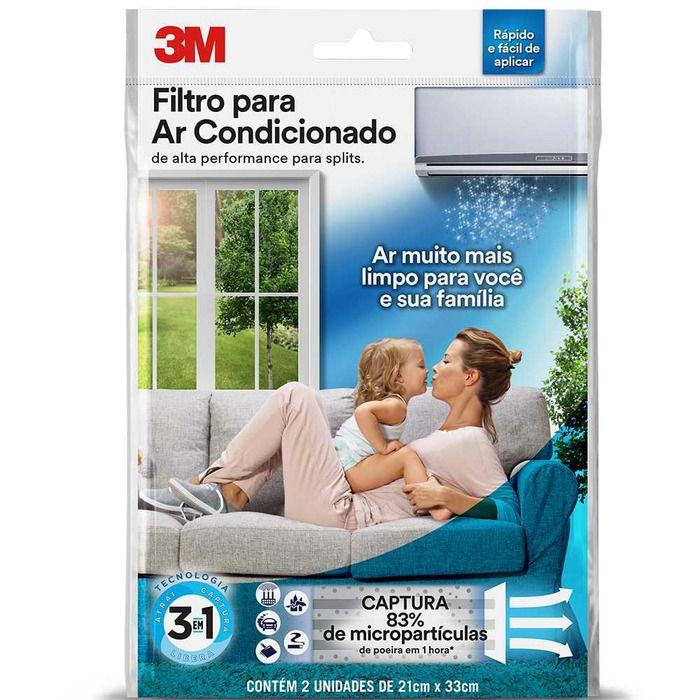 Filtro para Ar Condicionado com 2 Unidades - 3M