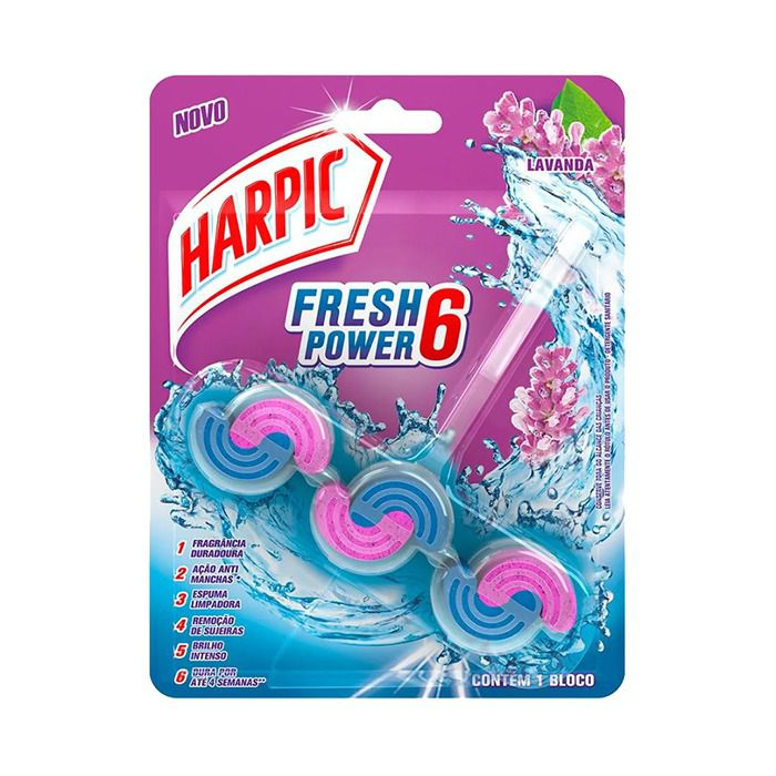HARPIC FRESH POWER 6 LAVANDA