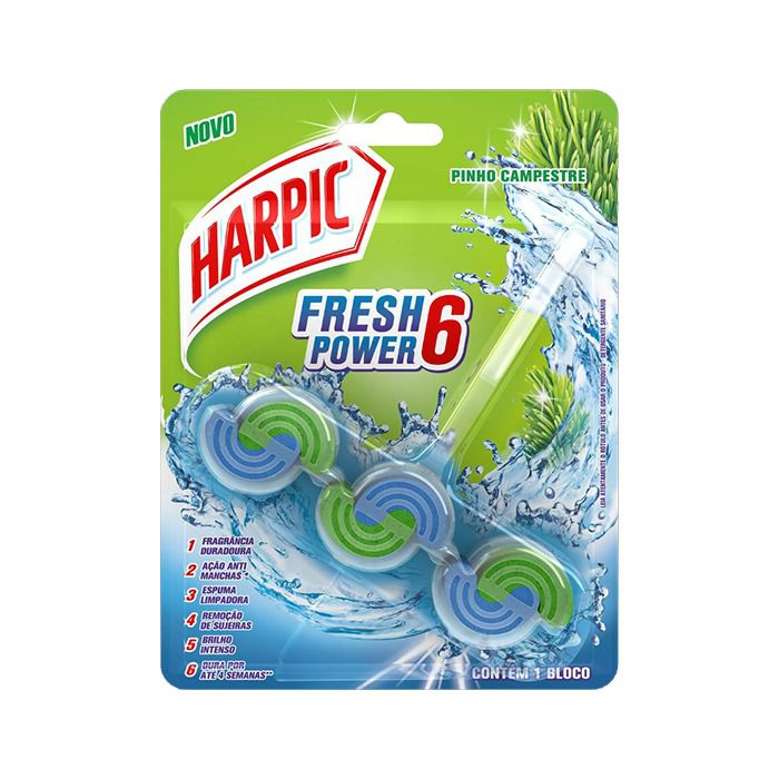 HARPIC FRESH POWER 6 PINHO CANADENSE