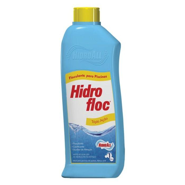 Hidrofloc Clarificante e Floculante 1L - Hidroall