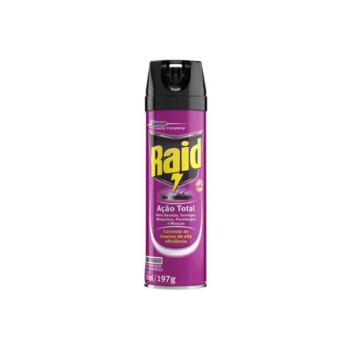 Inseticida Aerosol Ação Total 300ML - Raid