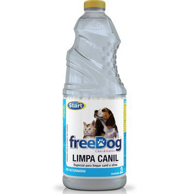 LIMPA CANIL FREE DOG 2L START