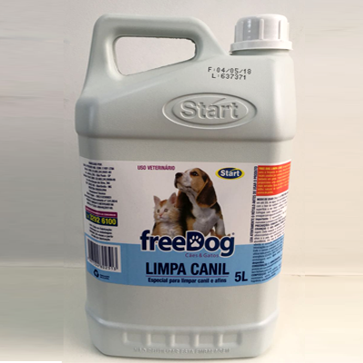 LIMPA CANIL FREE DOG 5L START