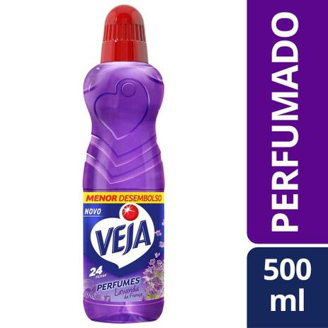 LIMPADOR VEJA PERF 500ML LAVANDA E BEM ESTAR